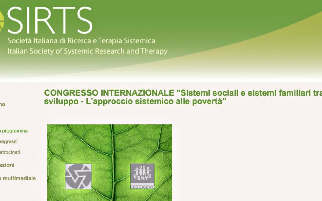 """""""Sistemi sociali e sistemi familiari tra crisi e sviluppo – L'approccio sistemico alle povertà"""""""
